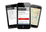 Use our route-planner on your mobile